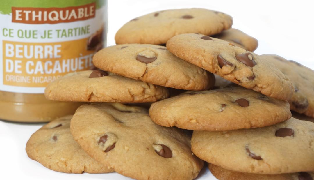 cookies beurre de cacahuetes lenaelle l na lle. Black Bedroom Furniture Sets. Home Design Ideas