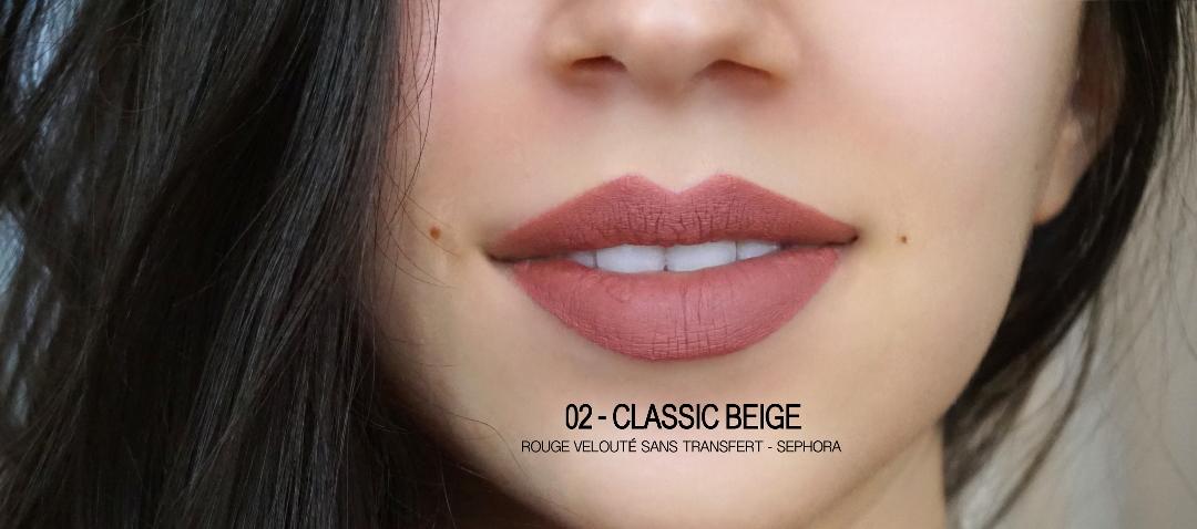 Nude Blush Sephora Rouge Veloute Lenaelle