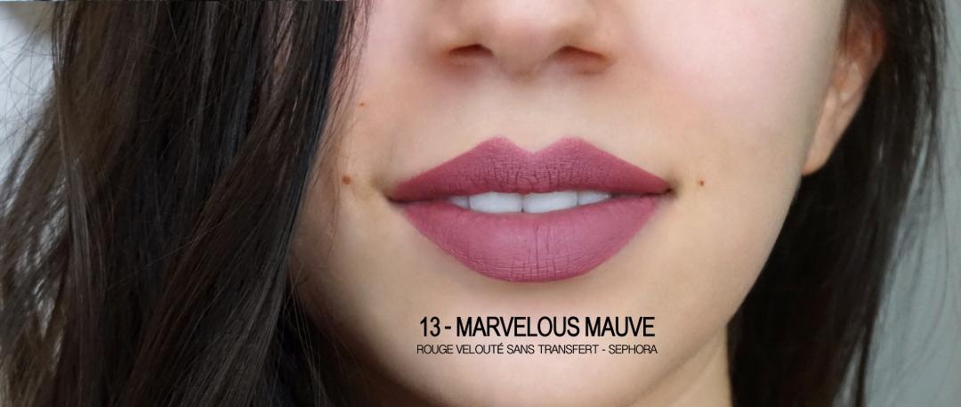 Marvelous Mauve Sephroa Rouge Veloute Lenaelle