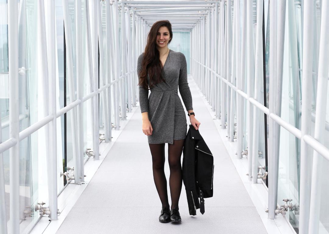 Veste Cuir Noir Zara Lenaelle