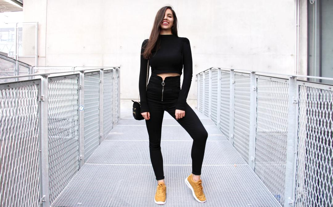 Jean Noir Taille Haute Asos Lenaelle