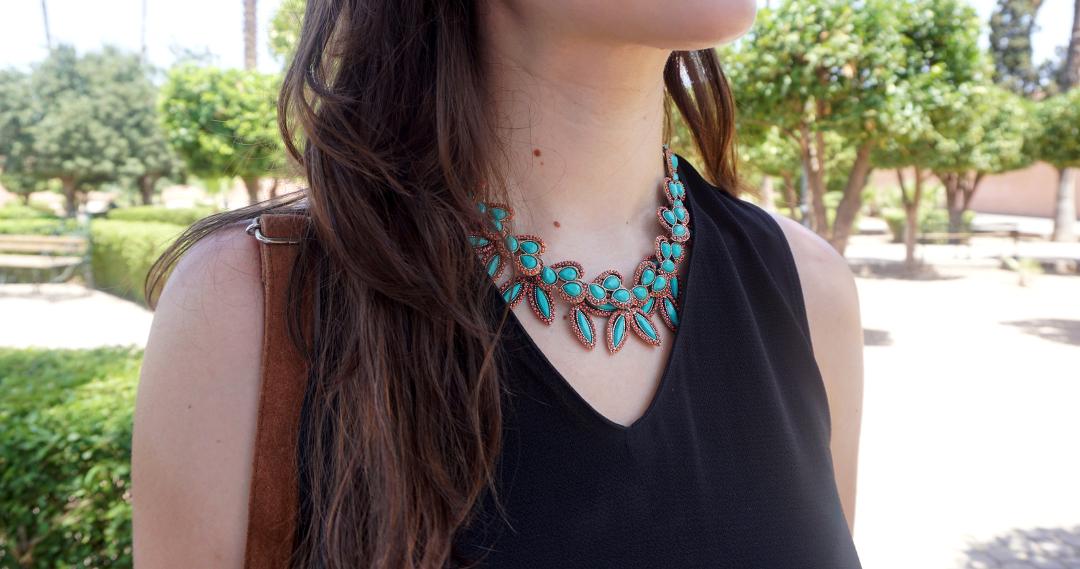 Look Marrakech Collier Zara Lenaelle