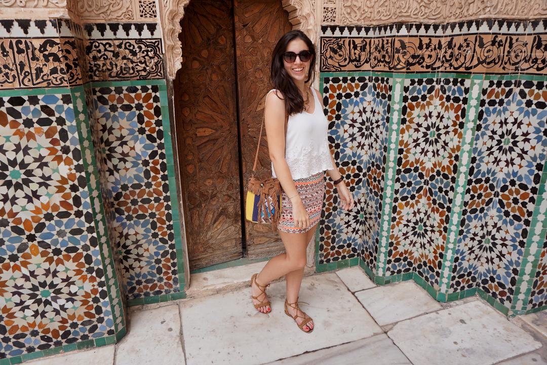 Look Marrakech Haut Asos Lenaelle